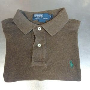 *Soft Touch* Polo by Ralph Lauren Small Brown Polo